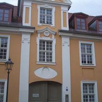 Typisches Haus in der Barocken Innenstadt