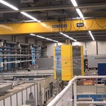 Aachen: Ankunft im Forschungslabor des Fraunhofer ILT