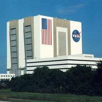 Edificio de Ensamblaje, Cabo Cañaveral. Florida.