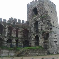 Muros de Constantinopla.