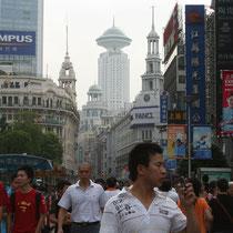 Calle de Nanjin, Shanghai