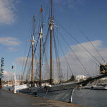 Barcos en Barcelona