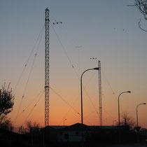 Antenas de navegacion aerea, La Guardia, Toledo.