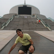 Pekin parque del monumento al Milenio