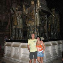 Tumba de Colon, Catedral de Sevilla