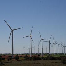 Molinos de viento, Cuenca