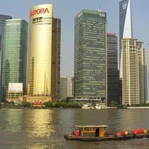 Rascacielos de Shanghai