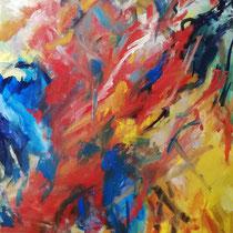 Feelings, Öl_Lwd.70x100cm