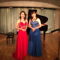 2016.12.19-26飛鳥Ⅱ演奏(フルートピアノデュオ)