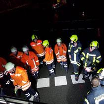 Monatsdienst Feuerwehr Soderstorf, März 2019, Absicherung der Unfallstelle, Einweisung Generator