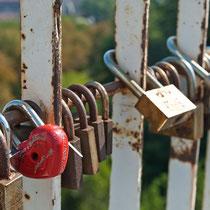 Liebesschlösser, Odessa, Ukraine