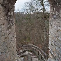 Blaubeuren, Rusenschloss (Ruine Hohengerhausen)
