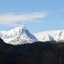 """""""Frauenwald"""" und Gehrenspitze (Österreich)"""