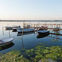 Neustädter Binnenwasser - Bootsanleger