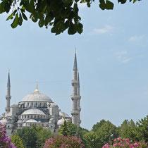 Aussicht vom Topkapi Palast, Istanbul, Türkei