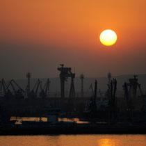 Industriehafen, Varna, Bulgarien