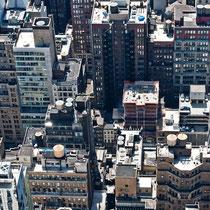 Aussicht vom Top of the Rock - Rockefeller Center