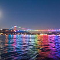 2. Bosporus Brücke, Istanbul, Türkei
