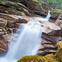 Sabbady Falls, Cancamagus Highway, New Hampshire