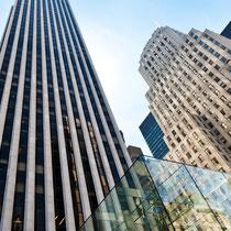Apple Store und GM Building
