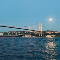 1. Bosporus Brücke, Istanbul, Türkei