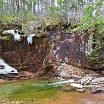 Sabbady Falls, Cancamagus Highway, New Hampshire