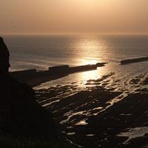 Helgoland, Lange Anna vor Sonnenuntergang