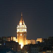 Galata Turm, Istanbul, Türkei