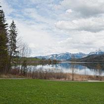 Weißensee in See bei Füssen