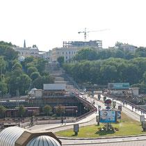 Hafen und Potjomkin-Treppe, Odessa, Ukraine