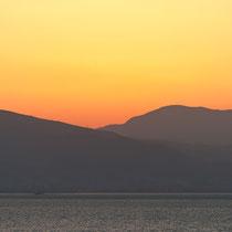 Sonnenaufgang Izmir, Türkei