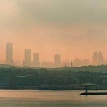 Bosporus Durchfahrt, Istanbul, Türkei