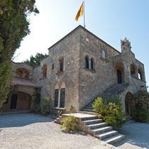 Mönchskloster, Rhodos, Griechenland