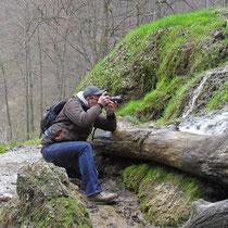 Bad Urach, Wasserfall (Ergebnis siehe Foto davor....)