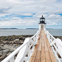 Marshall Point Lighthouse, ME (Forrest Gump Filmszene)