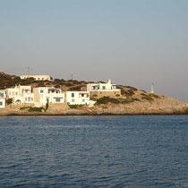 Blick auf die Bucht gegenüber dem Anlieger