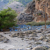 Kreta: Bienenstöcke bei Agia Roumeli