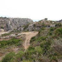 Blick auf Agia Varvara und Paleochora