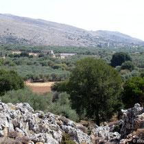 Kreta: Blick auf die Hochebene  mit Anopolis
