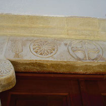 Folegandros: Detail an Kapelle