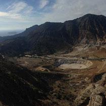 Panorama der Caldera