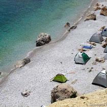 Der Strand von Chalkiada