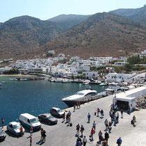 Sifnos: Anleger in Kamares