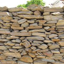 Gepflegte Mauer