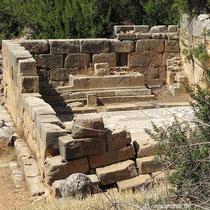 Der Asklepion-Tempel
