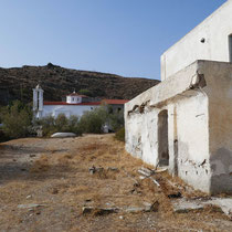 Kirchen Agii Anargyri von außen ....