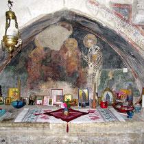 In einer der kleinen Kapellen