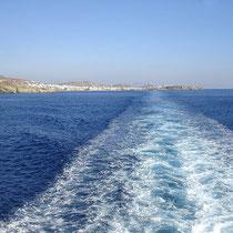 Tinos: Die Küste entlang.