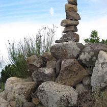Gifel-Steinmännchen