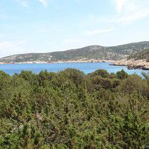 Blick zur Insel Kitriani